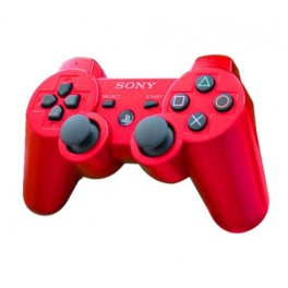 Mando Dual Shock 3 Rojo - PS3