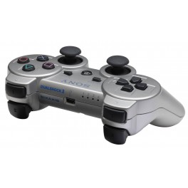 Mando Dual Shock 3 Silver Boxed - PS3